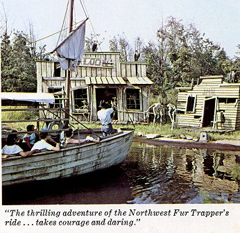 The         thrilling adventure of the Northwest Fur Trapper's ride.. takes         courage and daring